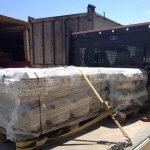 Transporte de Piloedres para el Edificio MÖBIUS en Donostia