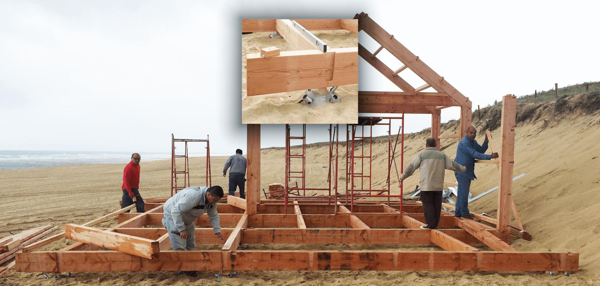 Piloedre es la cimentación prefabricada, de fácil instalación, desmontable y reutilizable