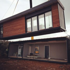 vivienda unifamiliar modular cimentada con Piloedre