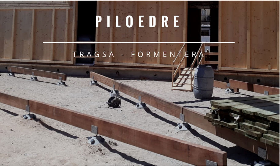 Tragsa Formentera PILOEDRE vuelve a la playa